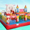 Supply inflatable castle, inflatable bouncing bed, children's Leap Leap the bed inflatable b