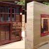 U.S. exports of wood furniture, original wood bookcase single single single bookcase bookcase bookca