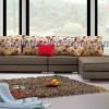 Modern Corner Sofa, Fabric Home Leisure Sofa