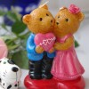 wholese wedding candles,Couple bear candle