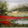 landscape oil painting, impression oil painting