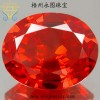 Yongtu quality color zircon jewelry direct sales / egg / Wuzhou synthetic gemstones Luodan