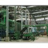 Cement particle board production line