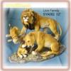 Resinic figurine(Lion)