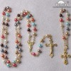 Rosary Set, Double Cap Crystal Rosary Set, gift sets
