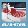 Service hot selling paint coffee table,glass coffee table