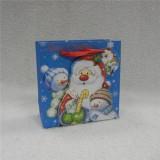 Printed Christmas Gift Bag Wit