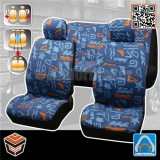 COTTON SEAT COVERS