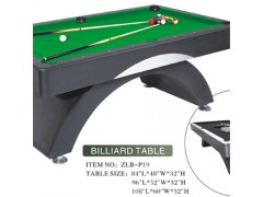 Unique MDF Billiard Table