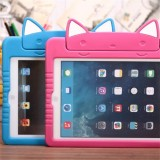 Cute Cat Kids Shockproof Ipad