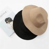 Faux Wool Felt Top Hat