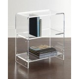 Clear Acrylic Bookcase