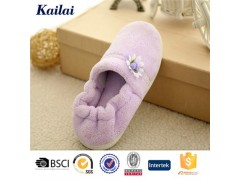 Coral Fleece Flower Warm Shoes