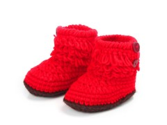 Wholesale Handmade Crochet Baby Booties Infant Shoes