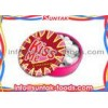 White Low Fat Cinnamon Hard Candy For Gift Multi Shaped Click Clack Tin Box