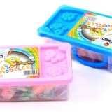 Plasticine in Plastic Case