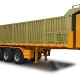 Flatbed Dump Semi-trailer