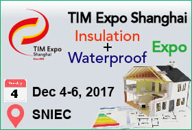 The 15th China (Shanghai) International Thermal Insulation Material, Waterproof Material  and Energy