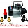 220V Diesel biodiesel kerosene pumpcast fuel oil transfer extractor pump 550W