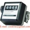 Mechanical flow meter black for fuel transfer pumps all types