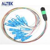 12 Cores Fiber Optic Single Mo