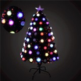 3ft Small Fiber Optic Christma