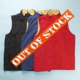 Mens Fleece Waistcoat Vest Top