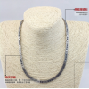 N-024 High polishing energy jewelry necklace health care bio magnetic necklace in bulk