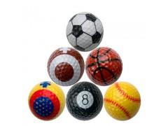 golf balls used