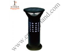 1W European Solar Lawn Light Aluminum Bollard(DZ-CT-202)