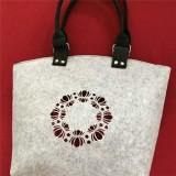 Handmade Felt Tote Handbag Sho
