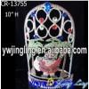 Colored Santa Christmas Crowns For Boy Tiara