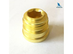 ISO Certificate CNC Turning Machining Brass Parts