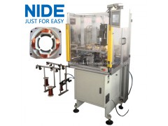 Automatic stator inslot needle coil winding BLDC stator winding machine