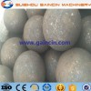 dia.40mm,90mm forged grinding media balls, skew rolling steel grinding media balls for metallurgy