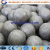 forged grinding media balls dia.40mm,90mm , skew rolling steel grinding media balls for ball mill