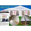 Engineering tents,Guangzhou tents factory customized aluminum construction tents on-demand