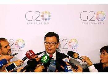 G20 finance chiefs decry protectionism as US import tariffs loom