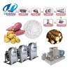 Potato starch extraction machines