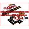 Four air modules air casters for sale