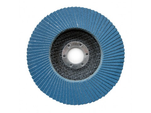 125mm zirconia flap disc with fiberglass back for polishing stainless steel