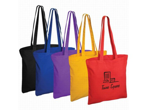Natural Cotton Shopping Bag, Canvas Tote Bag, Promotional Shopping Bag