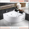 Double Person Sector Acrylic Whirlpool Bathtub TMB007