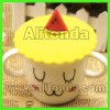 Soft cartoon silicone cup cover promotional cover for cups