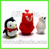 PVC Cartoon animal anime 3d figures three-dimension characters 3d dolls promotional gifts custom