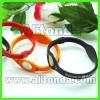 Silicone soft promotional wristband custom