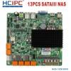 HCIPC M42S-6&7 HCM19NVR3,Intel J1900,13SATA3 NAS motheboard, mini ITX motherboard