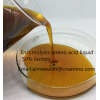 Hot sale plant origin compound amino acid liquid 30%,40%,50% organic fertilizer factory