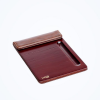 130*190 mm pu leather notepad holder for hotel room