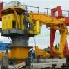 Heavy Duty100t Capacity Hydraulic System Knuckle Boom Harbor Crane